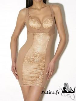 AUBADE HYPNODREAM Fond de robe invisible dentelle rafia