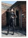 Chemise Victorienne noire manche longue