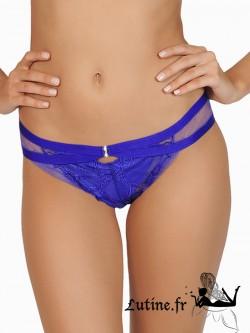 LISCA  LADY MOON Slip dentelle bleue