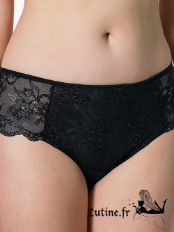 LUNA HONEYMOON Shorty dentelle noire