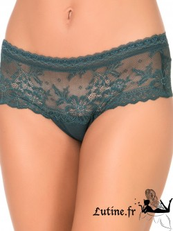 "SELMARK ""Rouge 604"" Shorty dentelle verte"