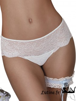 "SELMARK ""Christelle"" Shorty dentelle ivoire"