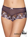 PASSION CREOLE AUBADE Shorty Saint-Tropez dentelle Iris