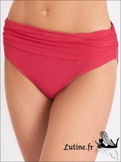 AUBADE Eclat d'Oasis maillot de bain Culotte Haute rouge perse