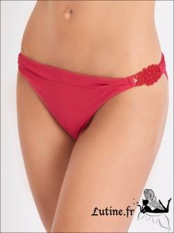 AUBADE Eclat d'Oasis maillot de bain Mini Coeur rouge perse