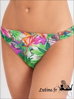 AUBADE Fleur Tropicale Brésilien coloris Paon