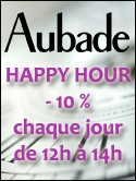 AUBADE HAPPY HOUR