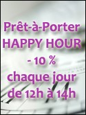 PRET A PORTER HAPPY HOUR