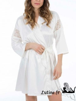 SELMARK CLARISSE Kimono ivoire