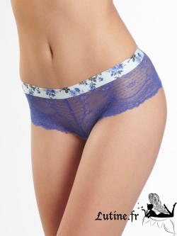 AUBADE ILLUSTRE INCONNUE Shorty St-Tropez coloris Miss
