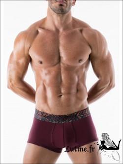 GERONIMO Boxer Homme Bordeaux