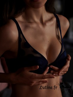 IMPLICITE POSSESSION Soutien-gorge push-up coloris Minuit.