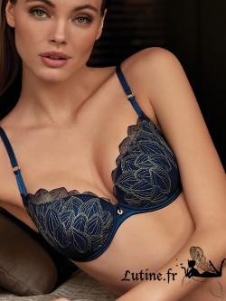 SELMARK SIMONA Soutien-gorge emboîtant coloris Bleu