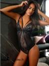 LASCANA TENTATION Body-string sexy dentelle noire