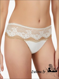 Shorty string ivoire SELMARK CAMILLE