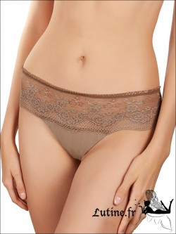Shorty string marron