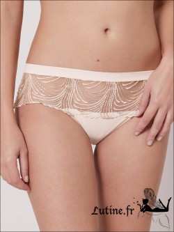 SIMONE PERELE NUANCE Shorty coloris perle Ivoire