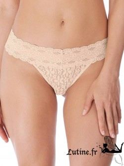 WACOAL HALO LACE String dentelle coloris Nude