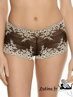WACOAL EMBRACE LACE Shorty noir