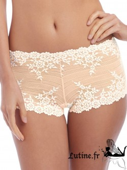WACOAL EMBRACE LACE Shorty coloris Naturally
