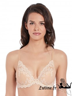 WACOAL EMBRACE LACE Soutien-gorge push-up coloris Naturally