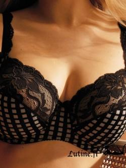 PRIMA DONNA MADISON Soutien-gorge emboîtant coloris Crystal Black