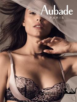 Soutien-gorge corbeille AUBADE FEMME GLAMOUR en Promo