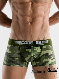 Boxer Homme Camouflage ARMY CODE 22