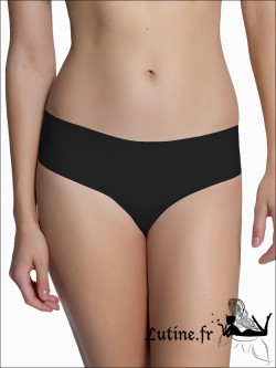 "LUNA ""Secret Sense"" slip invisible coloris noir"