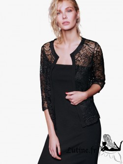 "ROSSOPORPORA ""Luxury"" Robe bustier noire"