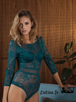 LISCA ETERNITY Body dentelle verte