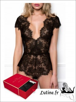 ADMAS Coffret Body dentelle noire WOMAN SEXY STORIES