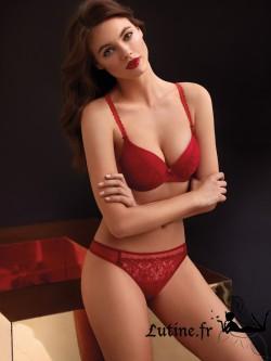 SELMARK GINA String rouge