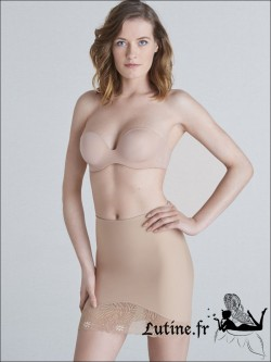 SIMONE PERELE TOP MODEL Jupe Panty sculptante coloris Peau
