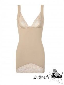 SIMONE PERELE TOP MODEL Robe sculptante coloris Peau