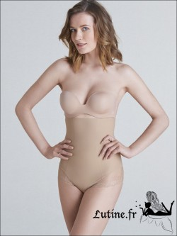 SIMONE PERELE TOP MODEL Culotte sculptante haute coloris Peau