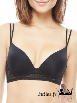IMPLICITE INFINITY Soutien-gorge Push-Up noir sans armatures