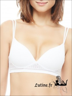 IMPLICITE INFINITY Soutien-gorge Push-Up blanc sans armatures