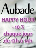AUBADE HAPPY HOUR