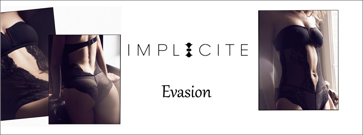 Découvrez la nouvelle collection EVASION d'IMPLICITE chez Lutine.fr ! Livraison gratuite en France métropolitaine