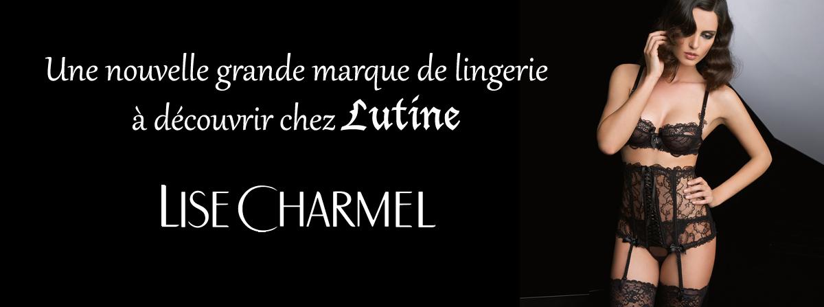 LISE CHARMEL arrive chez Lutine !
